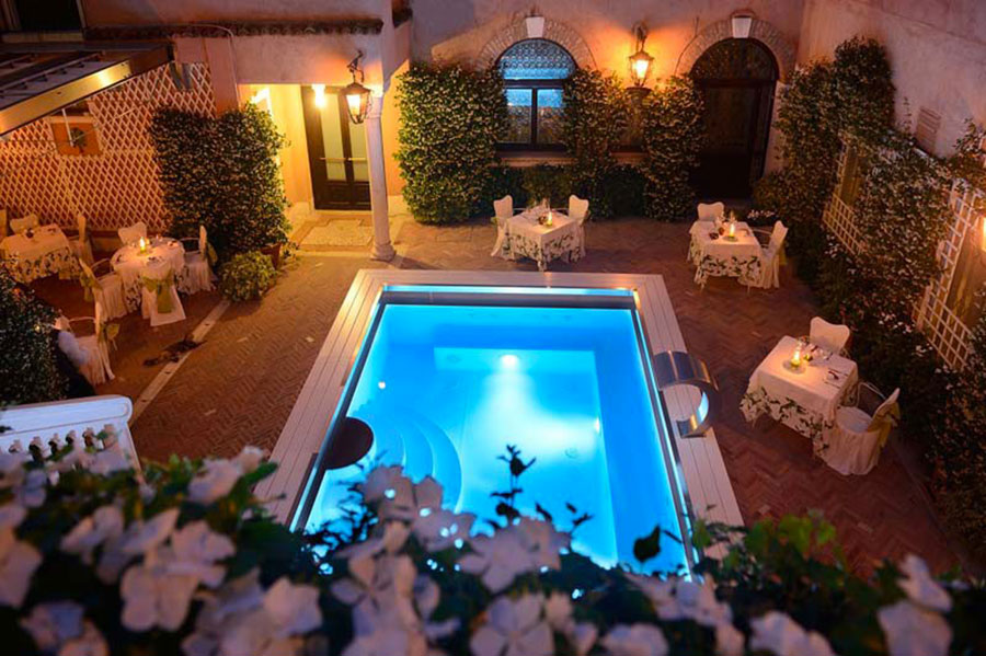 Baires above ground pool model