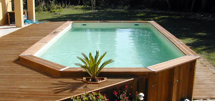 Above ground pool model by AE Piscine