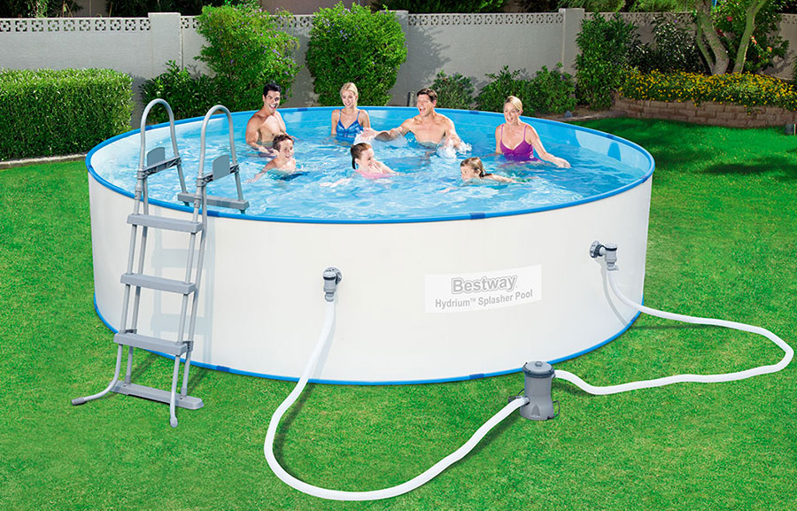 Bestway's above ground pool model