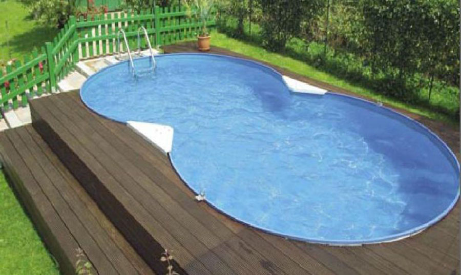 Above ground pool model by Foni