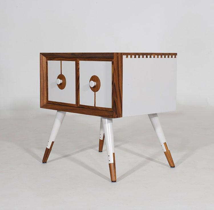 Vintage bedside table model by Alankaram n.06