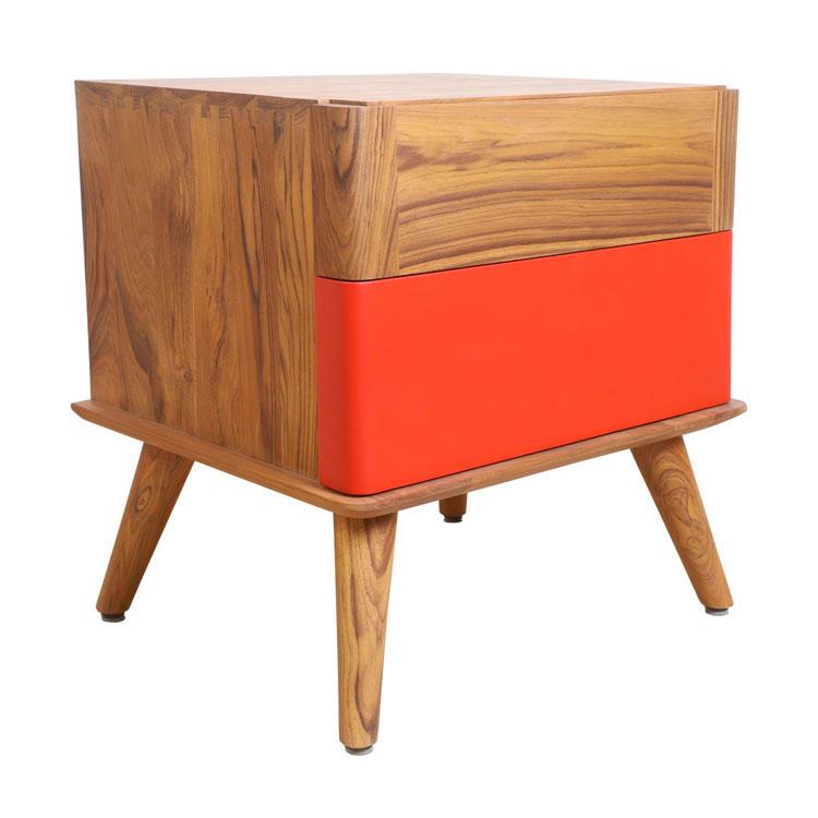 Vintage bedside table model by Alankaram n.08