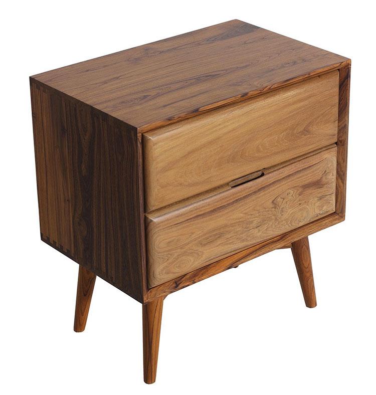 Vintage bedside table model by Alankaram n.10