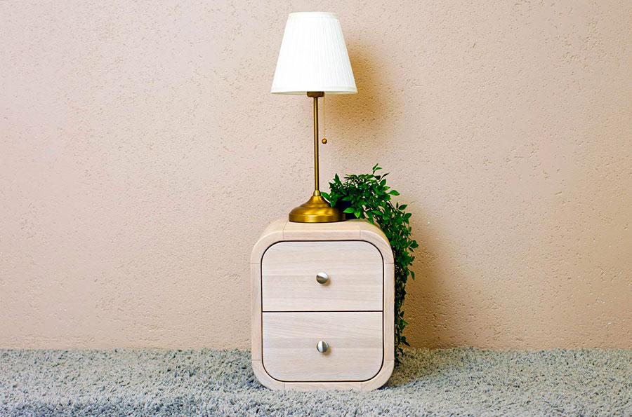 Vintage Bedside Table Model from Oak Design Studio # 07