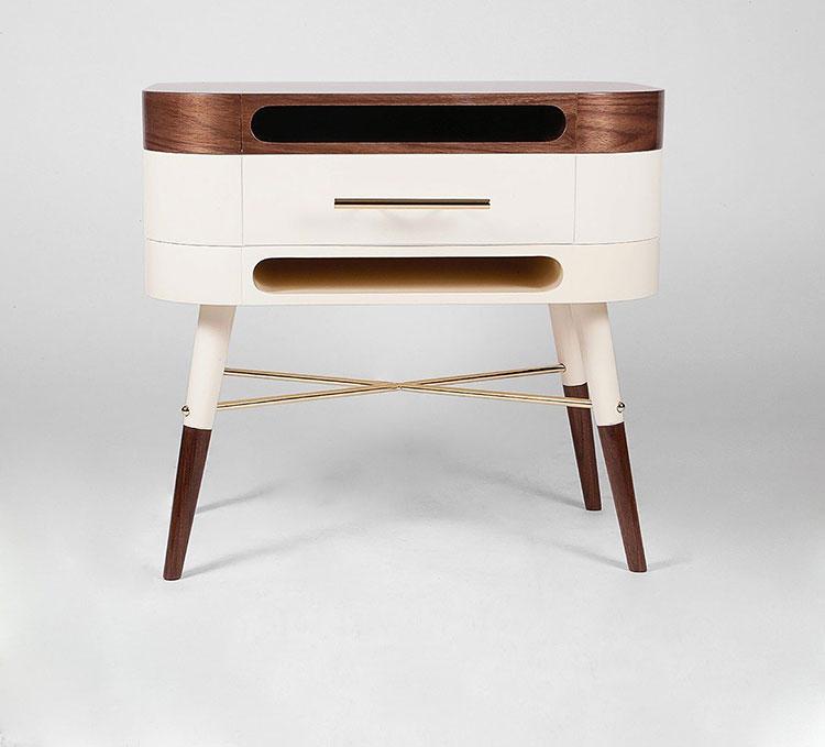 Vintage bedside table model by Muranti n.01