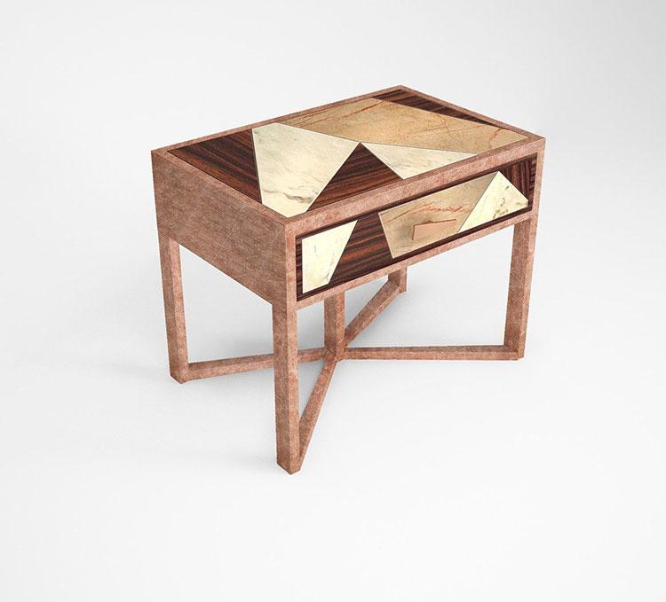 Muranti vintage nightstand model n.03