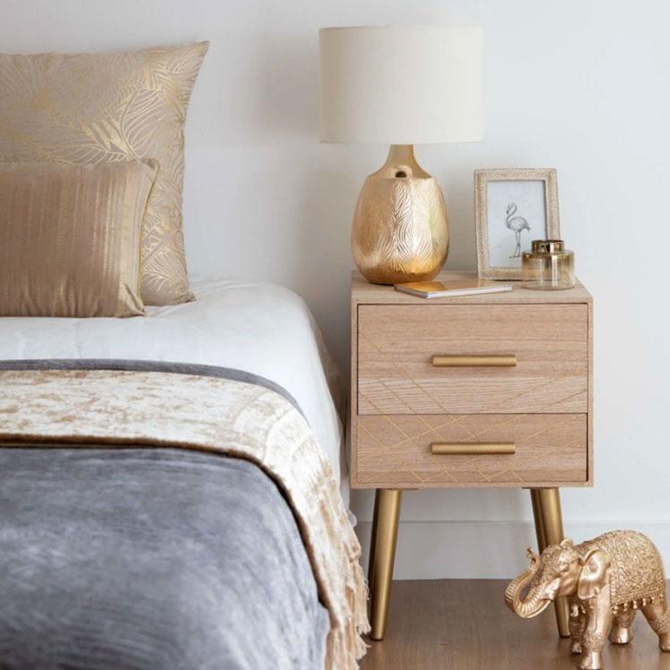 Vintage bedside table model by Maisons Du Monde n.01