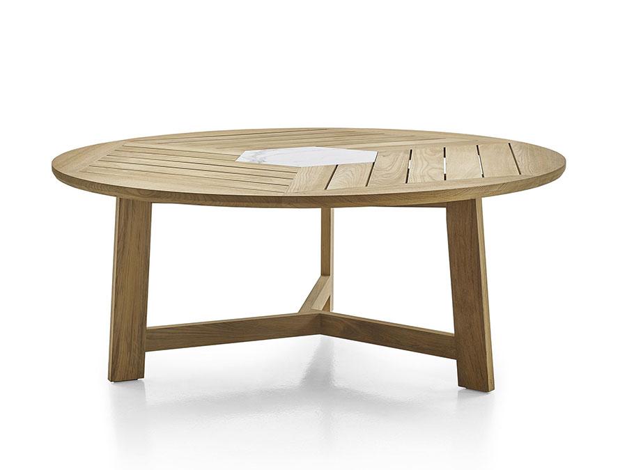 Teak wood garden table model n.09