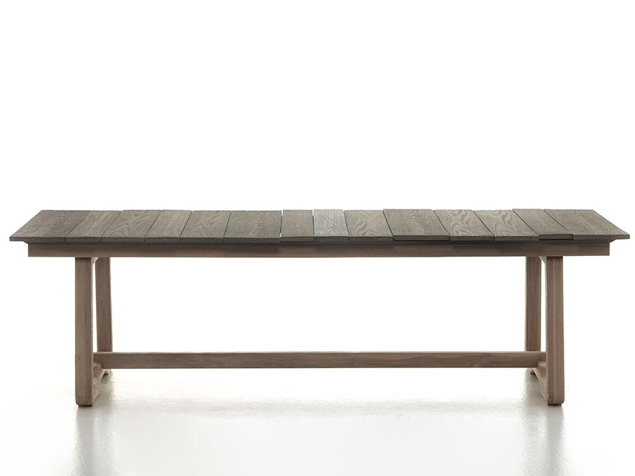 Teak wood garden table model n.03