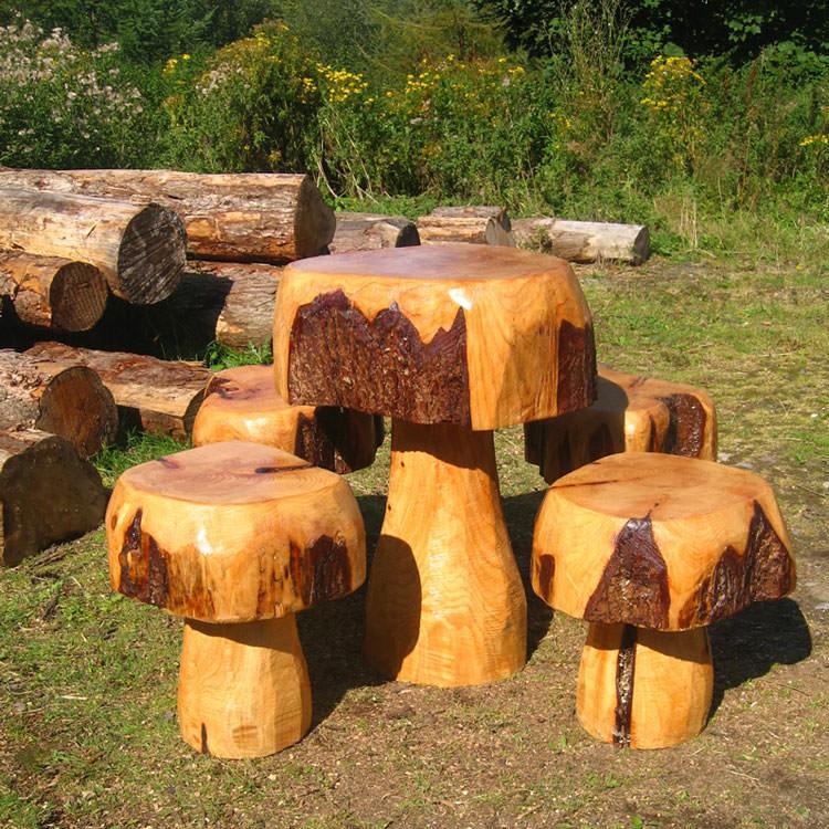 Photo of # 25 wooden garden table