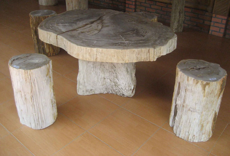 Photo of # 26 wooden garden table