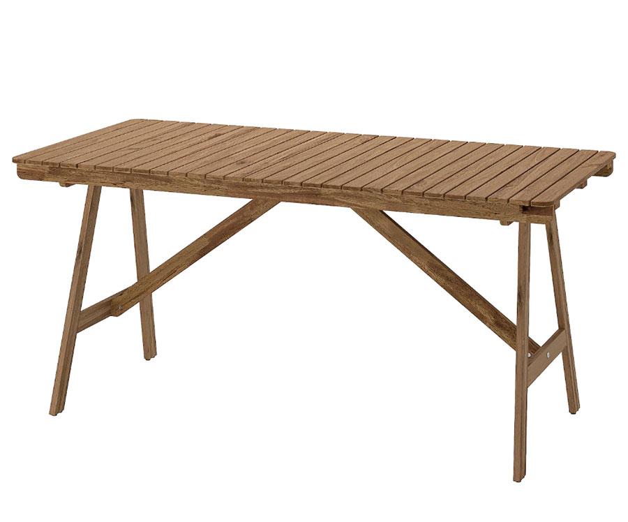 Ikea wooden garden table model n.04