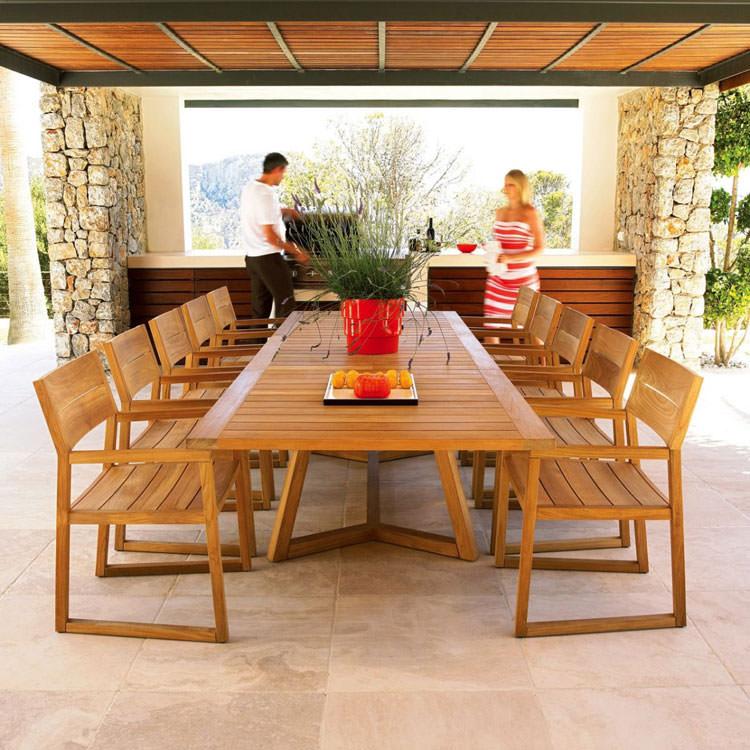 Photo of # 23 wooden garden table