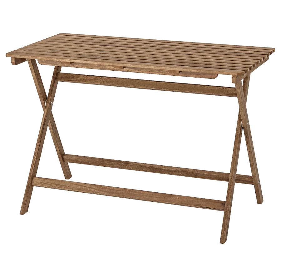 Ikea wooden garden table model n.06
