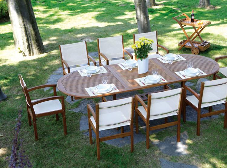 Photo of # 28 wooden garden table