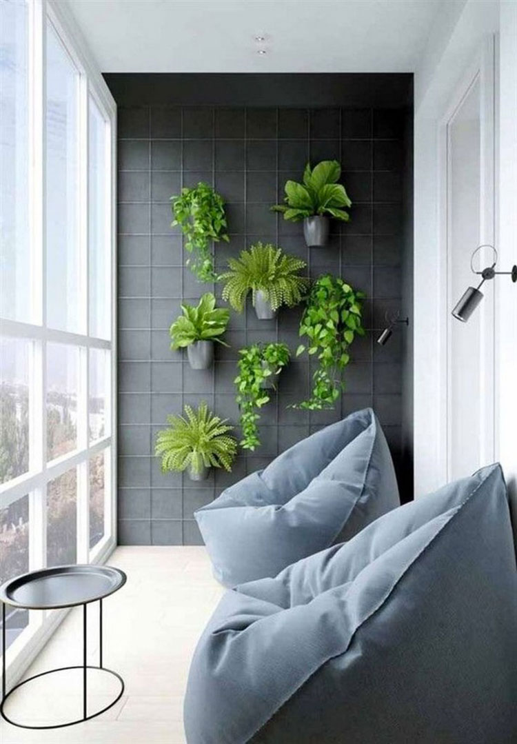 Ideas for decorating a small balcony n.04