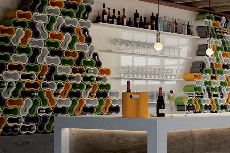 Design bottle holder model # 14