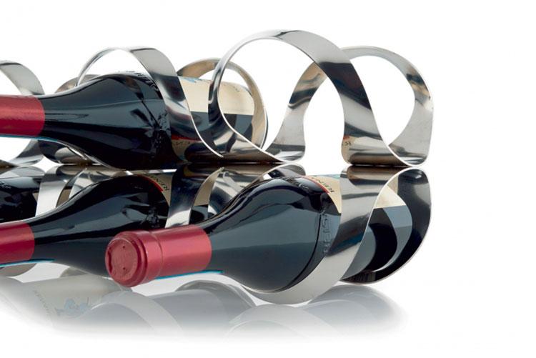 Design bottle holder model n.05