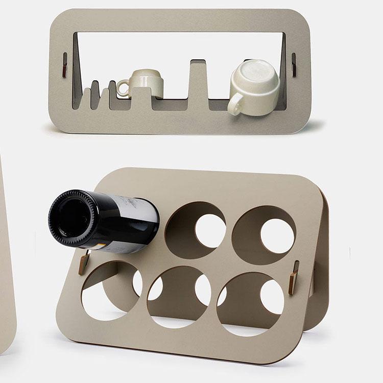 Design bottle holder model no.08