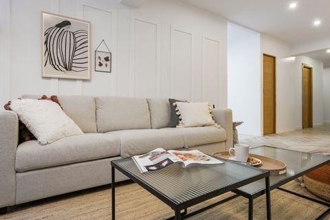 japandi style lounge