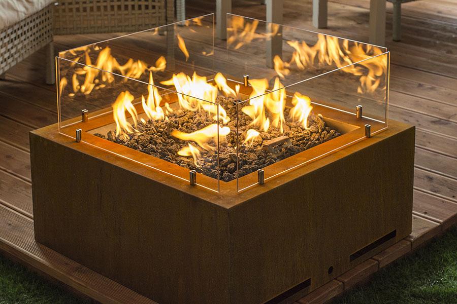 Design Garden Fireplace Model No.02