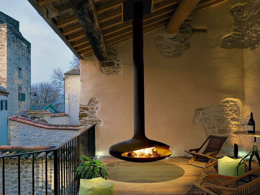 Design Garden Fireplace Model # 09