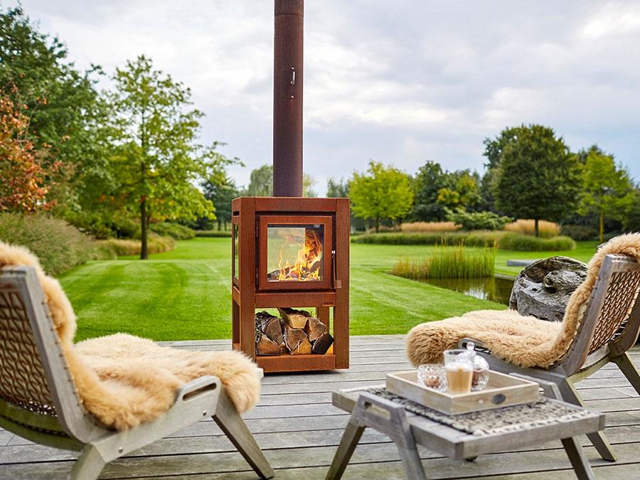 Design Garden Fireplace Model # 12