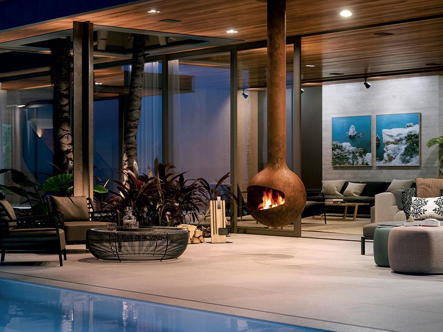 Design Garden Fireplace Model # 10
