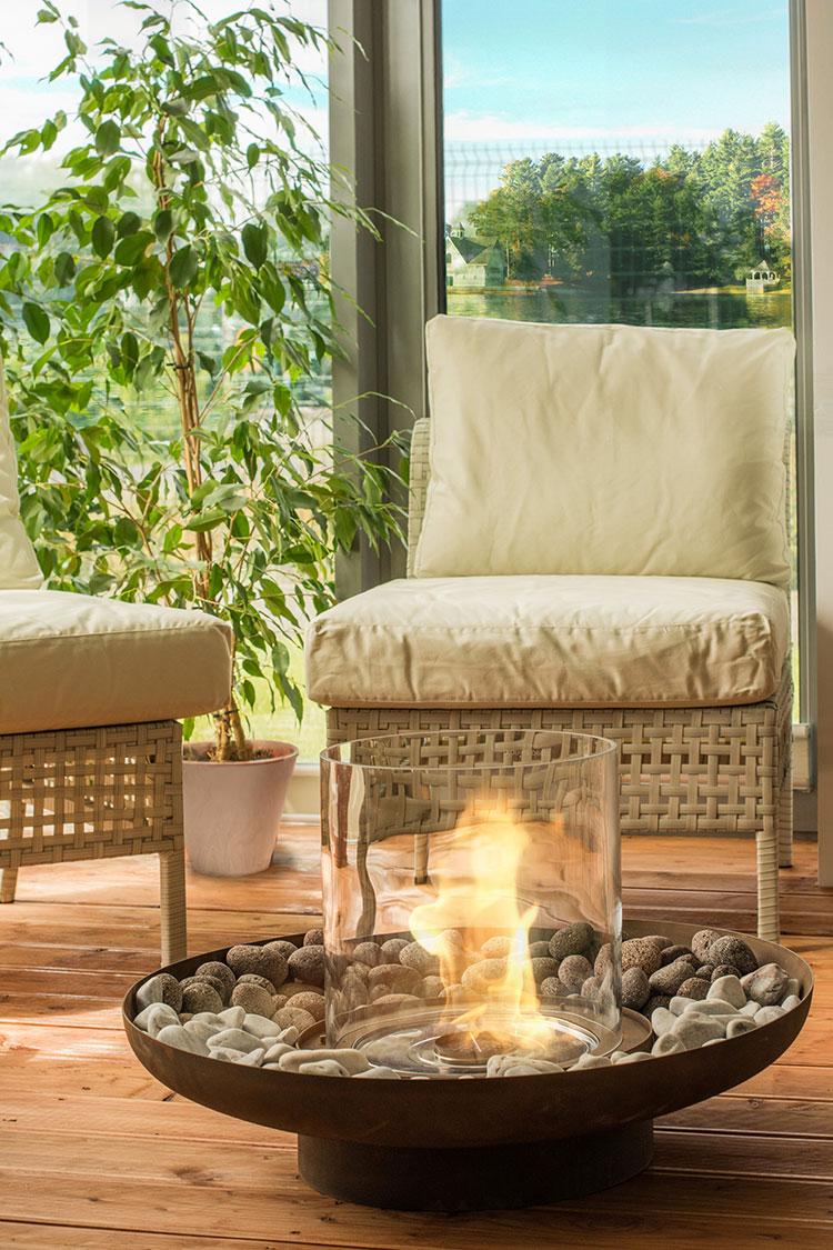 Design Garden Fireplace Model # 08