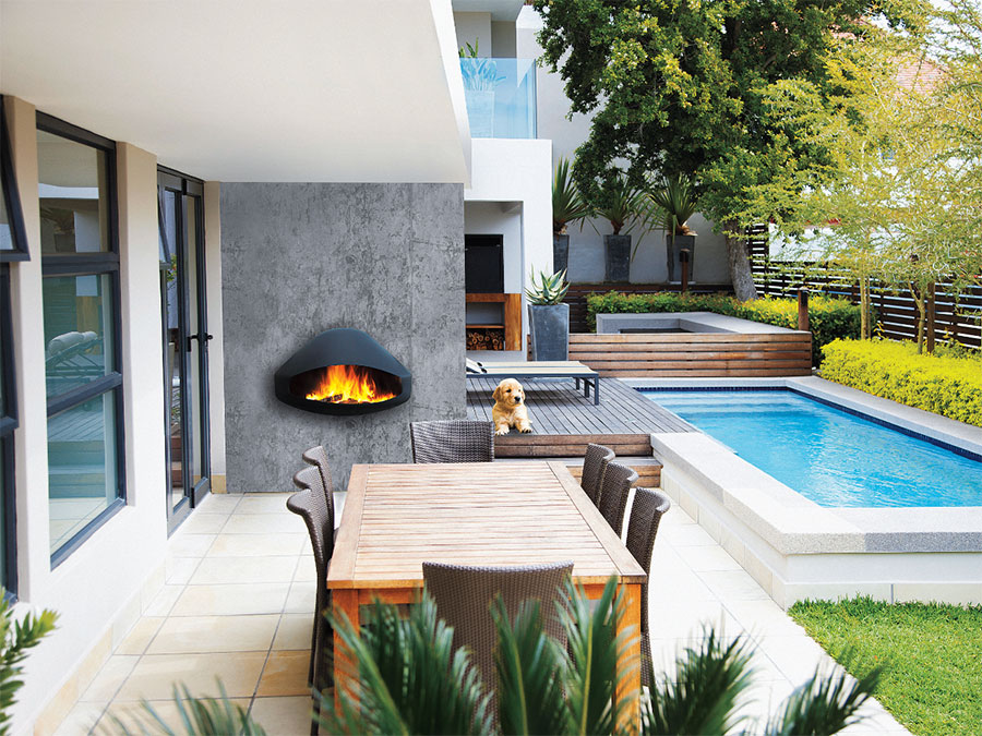 Design Garden Fireplace Model # 11