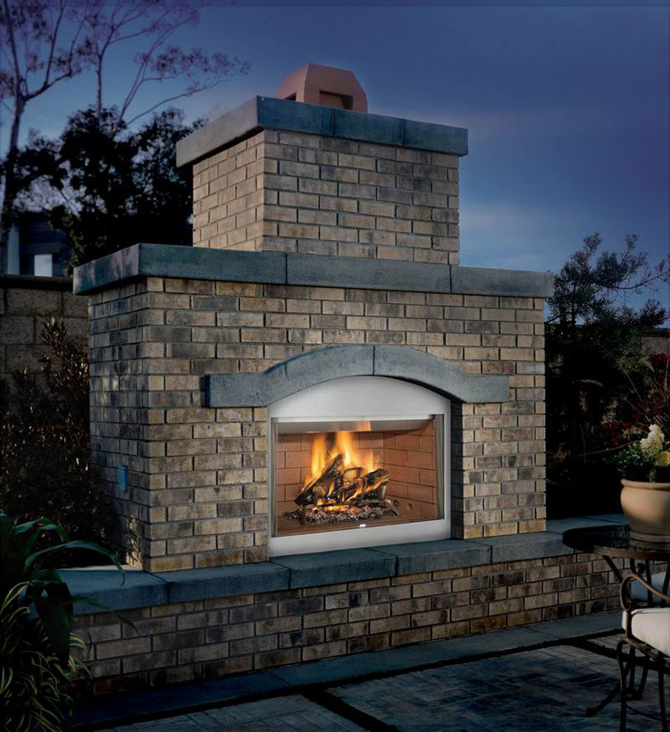 Photo of the garden fireplace # 20