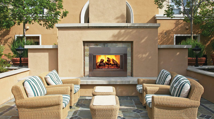 Photo of the garden fireplace # 11