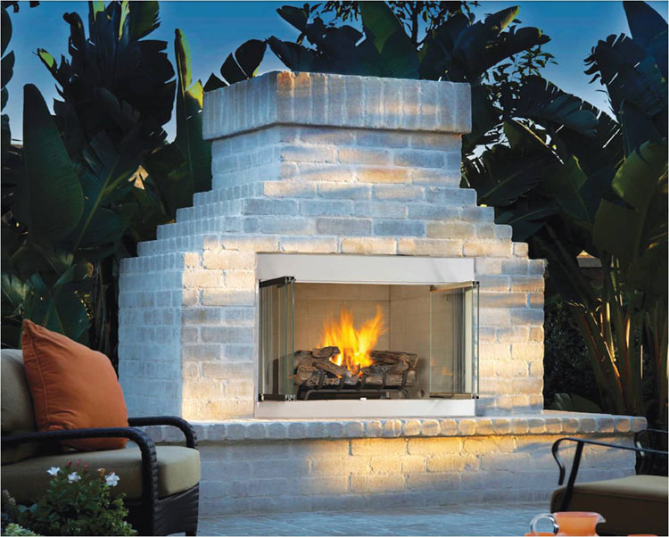 Photo of the garden fireplace # 21
