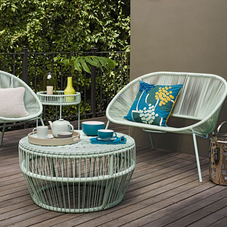 Ideas for decorating the terrace of an apartment n.03