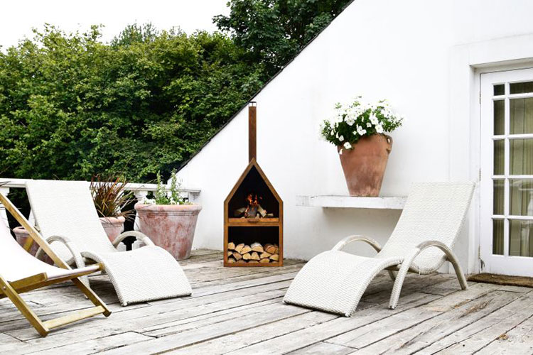 Ideas for decorating the terrace of an apartment n.06