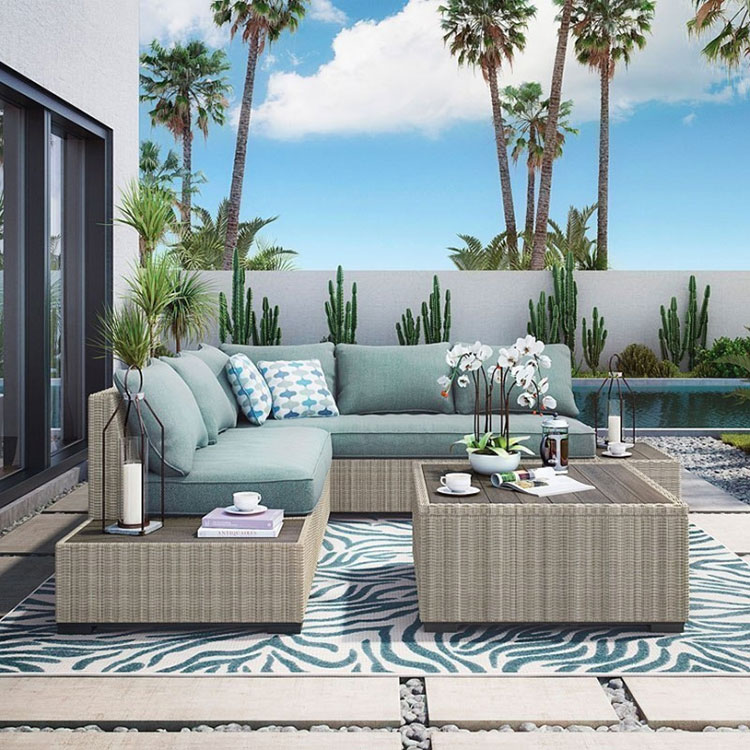 Ideas for decorating the terrace of an apartment n.10