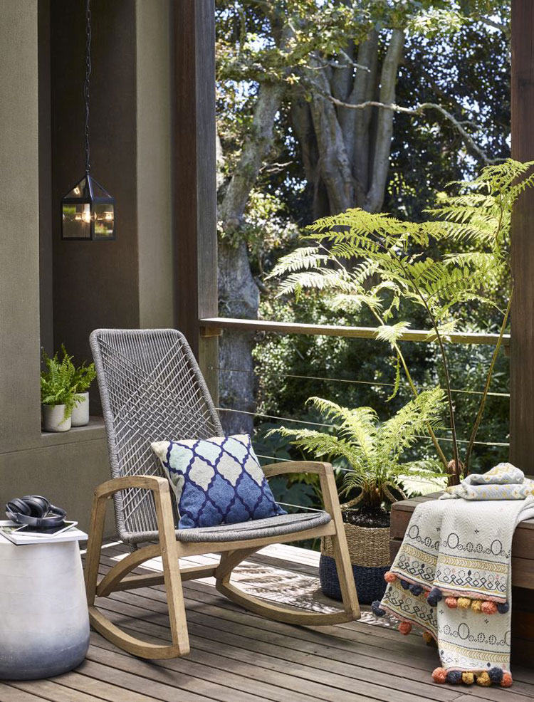 Ideas for decorating the terrace of an apartment n.05