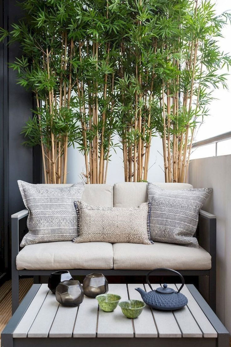 Ideas for decorating the terrace of an apartment n.25