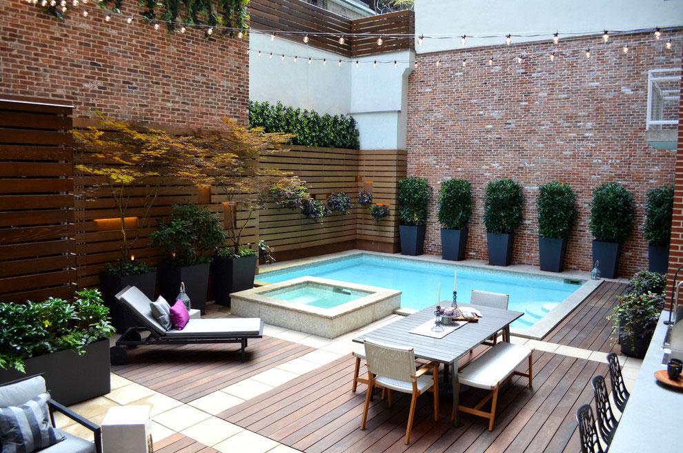 Photo of the modern design swimming pool # 02