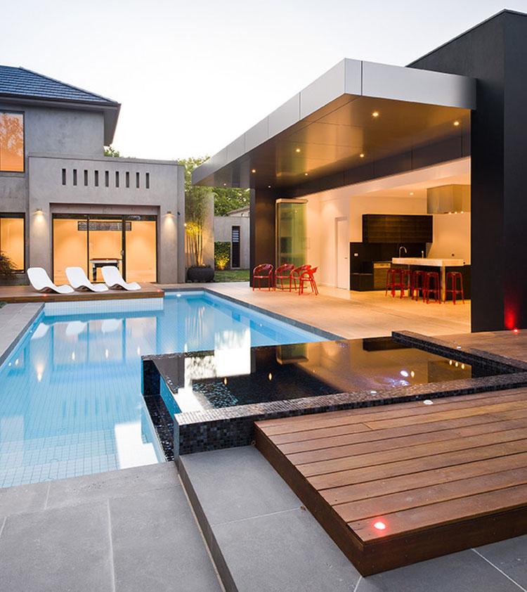 Photo of the modern design swimming pool n.05