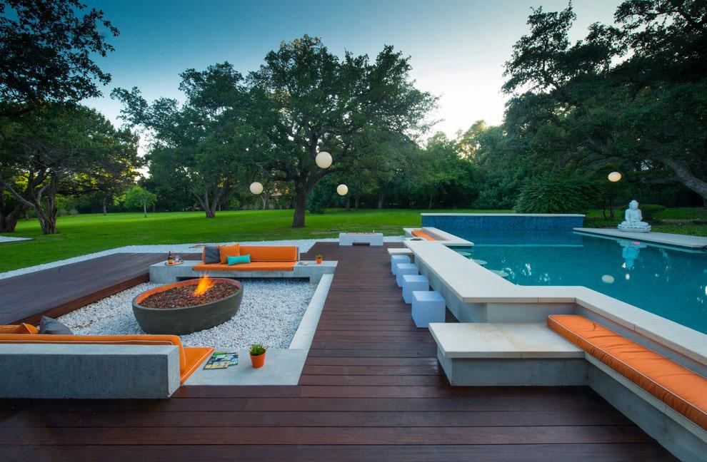 Photo of the modern design swimming pool # 03