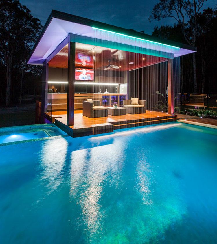 Photo of the modern design swimming pool # 04