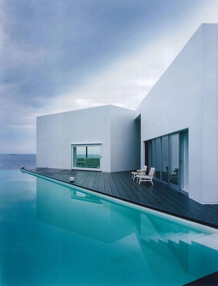 Photo of the modern design swimming pool # 19