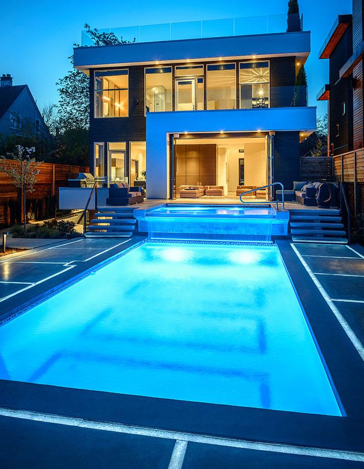 Photo of the modern design swimming pool # 06