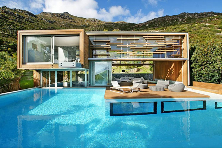 Photo of the modern design swimming pool # 23