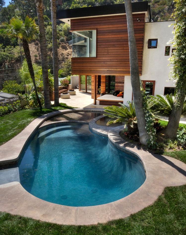 Photo of the modern design swimming pool # 11