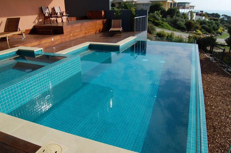 Photo of the modern design swimming pool # 26