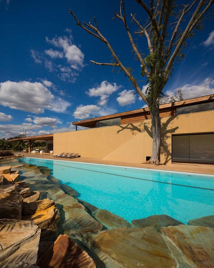 Photo of the modern design swimming pool # 18