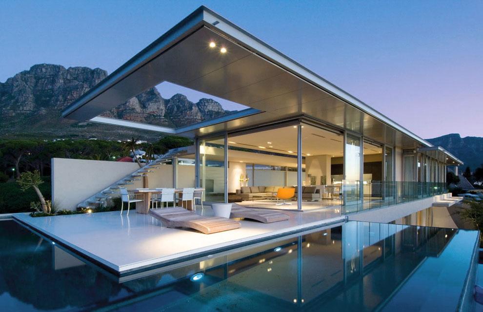 Photo of the modern design swimming pool # 28