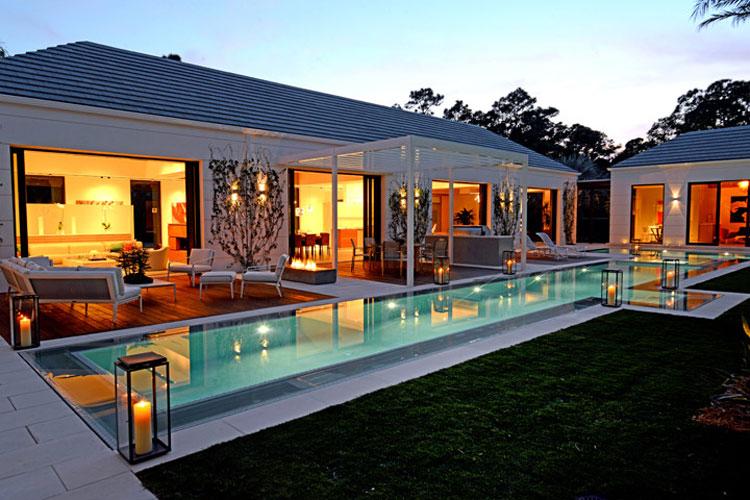 Photo of the modern design swimming pool # 14
